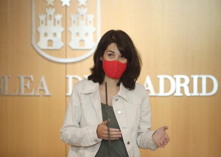 """Serra (Podemos) tacha de """"segregación clasista"""" las nuevas restricciones de la Comunidad de Madrid"""
