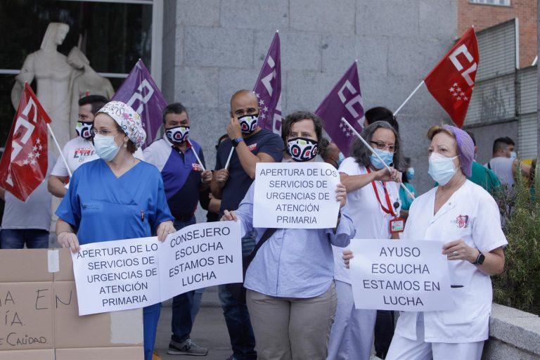 Desconvocada la huelga en la Atención Primaria en Madrid tras alcanzar un acuerdo con la Comunidad