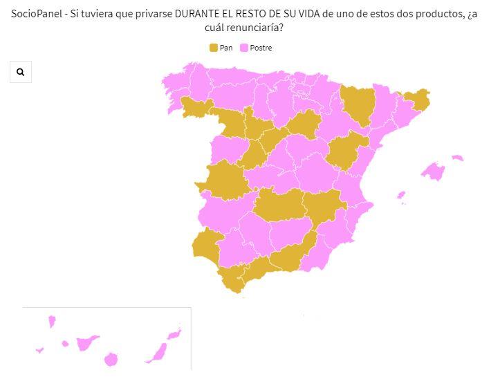 SocioPanel (7sept): los españoles 'pasan' del postre y se quedan con el pan