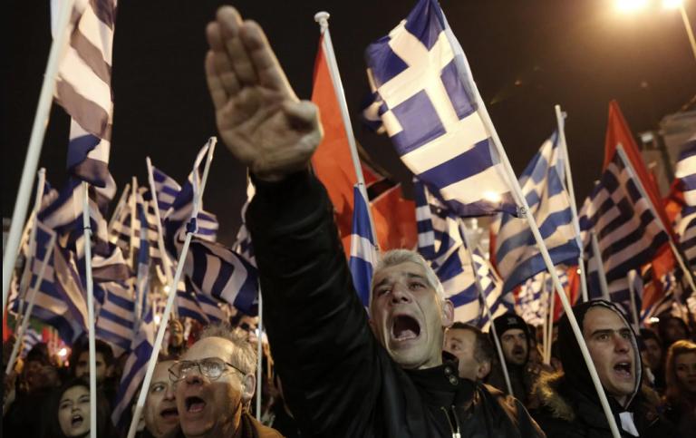 Amanecer Dorado, declarado 'organización criminal' en Grecia