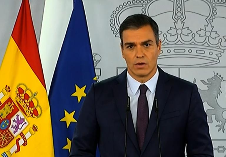 Pedro Sánchez lamenta el 'inasumible' número de mujeres asesinadas por violencia de género en 2020