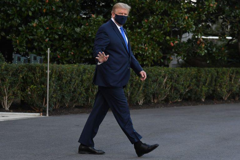 Donald Trump es trasladado a un hospital militar «por precaución»