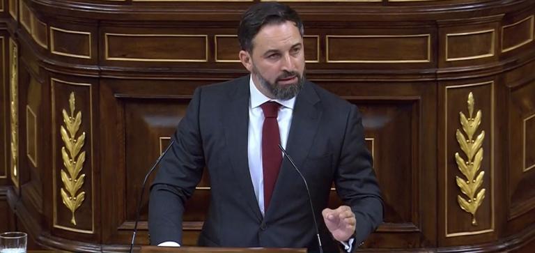 Abascal defiende su candidatura: 'a los españoles se les ha acabado la paciencia'