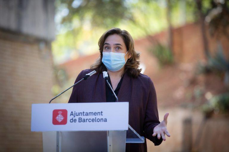 """Ada Colau no descarta presentarse de nuevo a las elecciones: """"nos ha tocado un tiempo excepcional"""""""