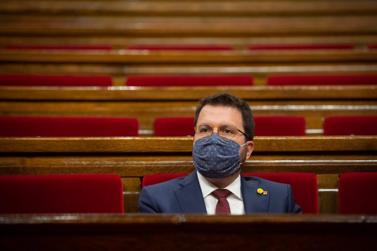 Aragonès pacta con la CUP someterse a un 'revocatorio' a mitad de legislatura