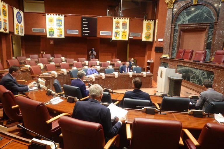El Pleno del Congreso aprobará esta semana la reforma del Estatuto de Autonomía de la Región de Murcia que suprime aforamientos