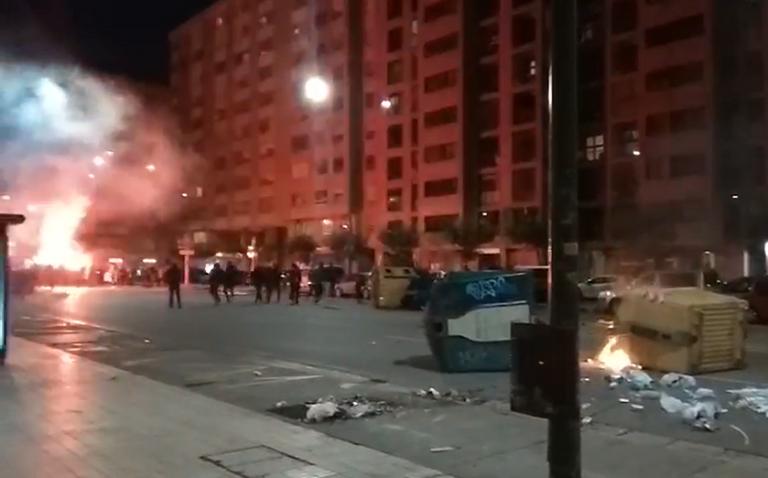 Incidentes en Barcelona, Burgos, Zaragoza, Cantabria…