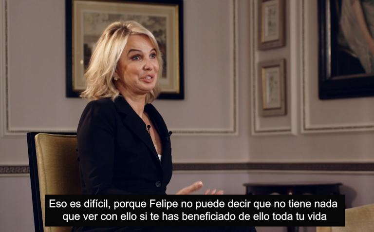 Corinna declara a OK Diario que Felipe VI 'se ha beneficiado toda su vida'