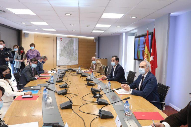 El Gobierno central y la Comunidad de Madrid se reunirán de nuevo este martes 13