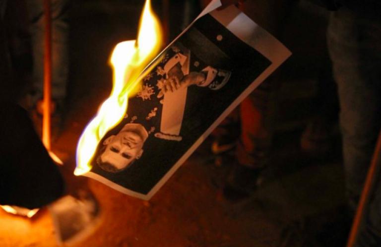 Planean 'quemas de fotos' del rey por su visita a Barcelona de este viernes
