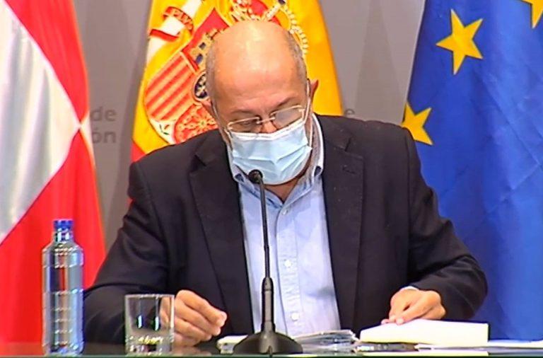 Castilla y León pide al gobierno que estudie la implantación de un confinamiento «breve e intenso» en pocos días