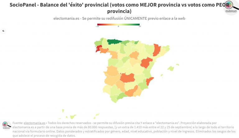 SocioPanel (4oct): Asturias, la región española mejor valorada por los ciudadanos