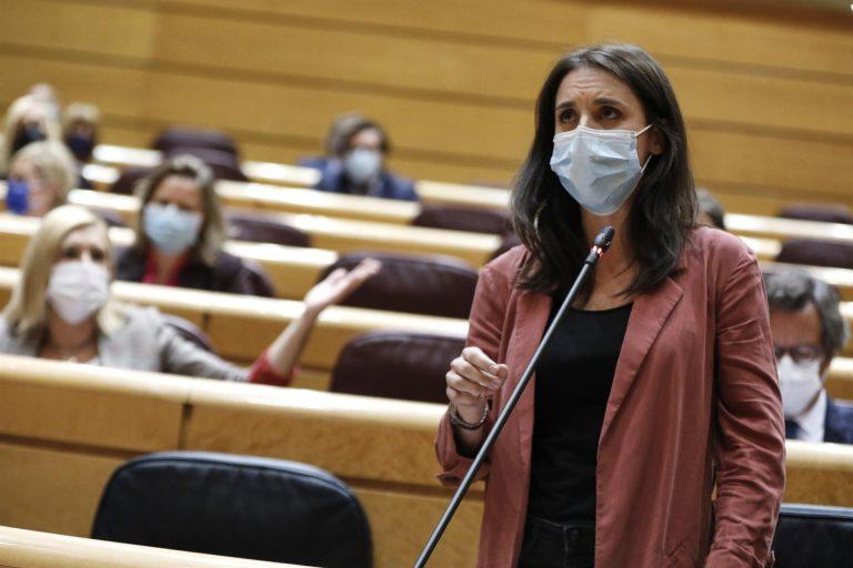 Irene Montero dice que todas las investigaciones judiciales contra Podemos acabarán archivadas