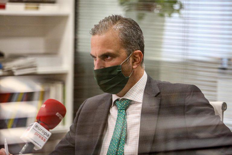Ortega Smith teme una moción de censura en Madrid ante una «deslealtad de Cs» y es partidario de elecciones