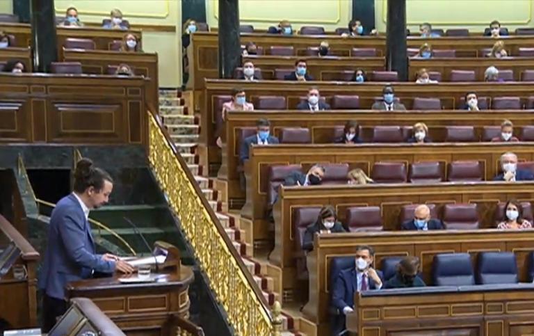 Pablo Iglesias dice a PP y Ciudadanos que llegan tarde