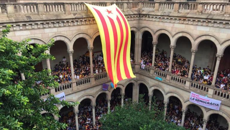 La Universidad de Barcelona, condenada por no mantener la 'neutralidad política'