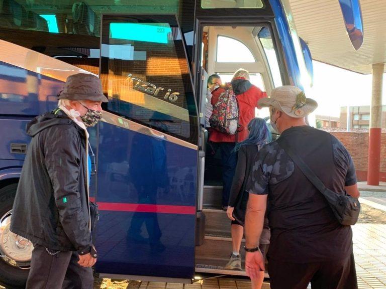 Castilla y León habilita un bus gratuito para sortear el tramo del Camino de Santiago afectado por el confinamiento de León