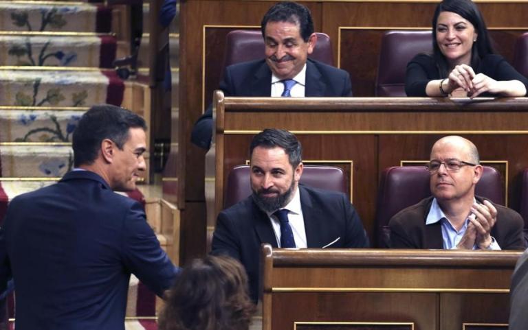 Sánchez tiene programado un acto a la hora de comienzo de la moción de censura