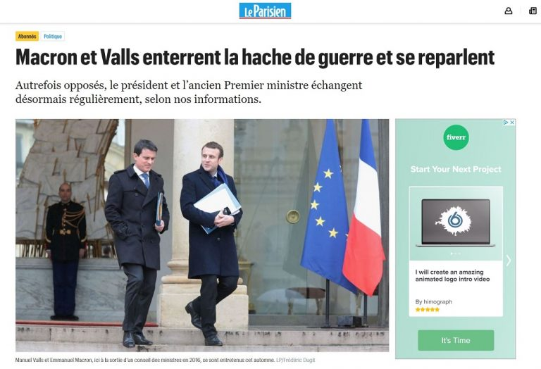 Valls: según Le Parisien, está estrechando lazos con Macron y volvería  a la política francesa