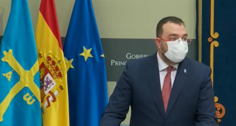 Barbón explica por qué cree necesario adoptar medidas más duras en Asturias