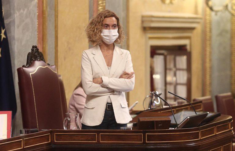 Batet quita la palabra a la CUP y el BNG en el Pleno del Congreso por empeñarse en hablar en catalán y gallego