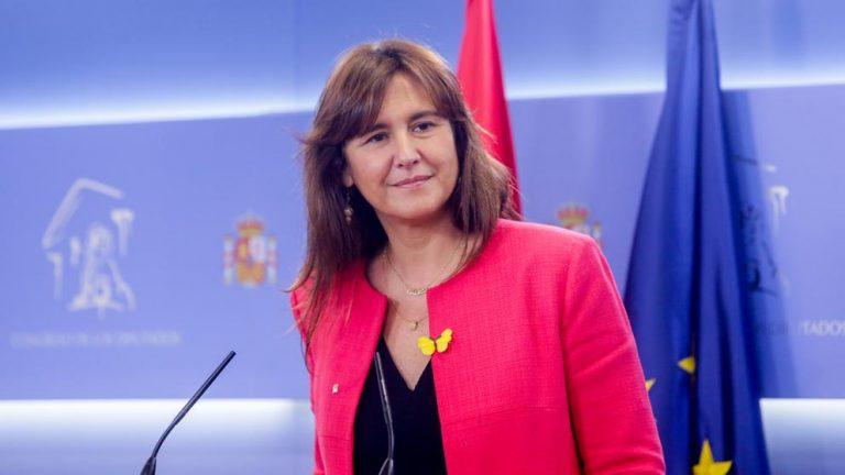 Laura Borràs da por hecho que los presos del 'procés' harán campaña telemática