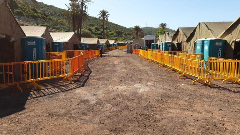 El nuevo Centro de Atención Temporal a Extranjeros de Gran Canaria podrá acoger migrantes a partir de hoy