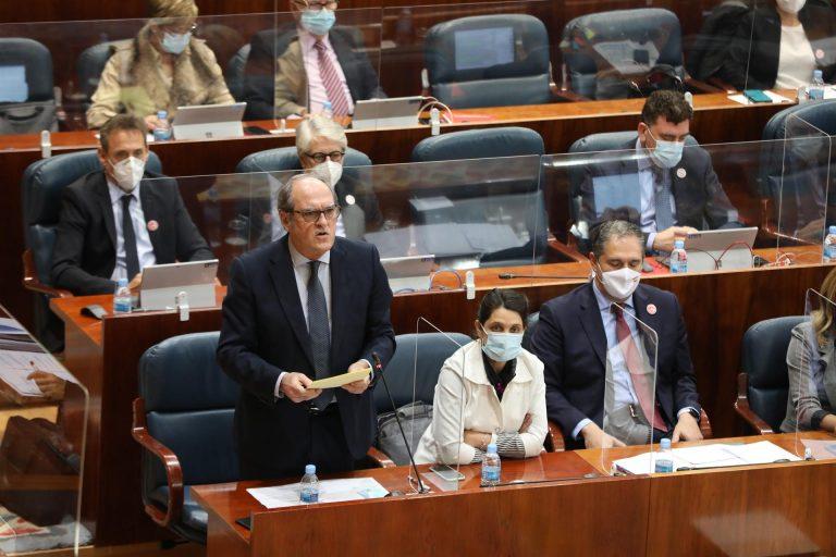 """Gabilondo pide a la Comunidad """"más medidas"""" contra el Covid-19"""