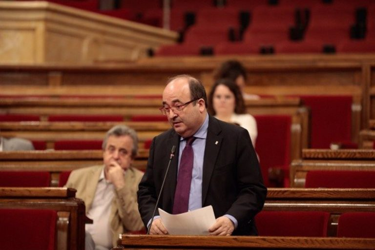 El PSC intentará pactos para 'una candidatura catalanista fuerte'