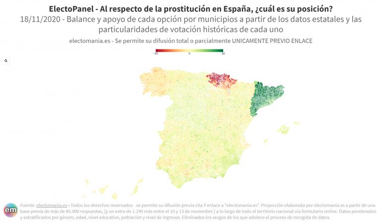 EP (18N): gran división sobre legalizar o prohibir la prostitución