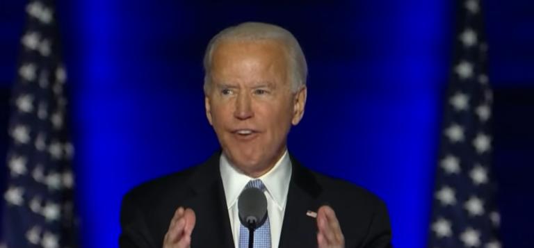 """El discurso de Biden: """"Es hora de sanar los Estados Unidos"""""""
