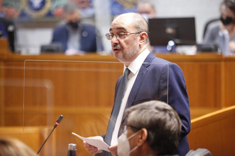 Lambán pide gobernar desde la centralidad y no volver a la dinámica de 1936
