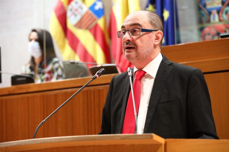 Javier Lambán, positivo en Covid-19 tras participar en el congreso federal del PSOE