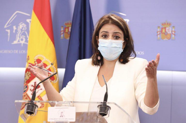 Adriana Lastra toma las riendas del PSOE tras la salida de Ábalos
