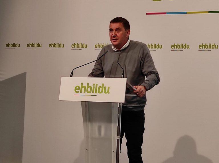 EH Bildu ratificará el jueves su apoyo a los presupuestos