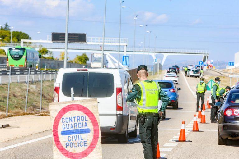 La comunidad de Madrid se cerrará perimetralmente durante el Puente de la Constitución