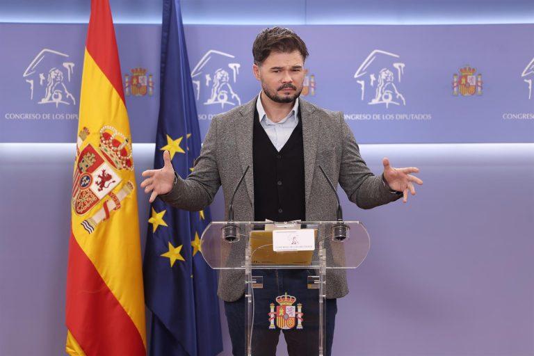 Enmiedas 'protesta' de ERC: ni un euro para el rey, los tribunales Constitucional y de Cuentas, y el ejército