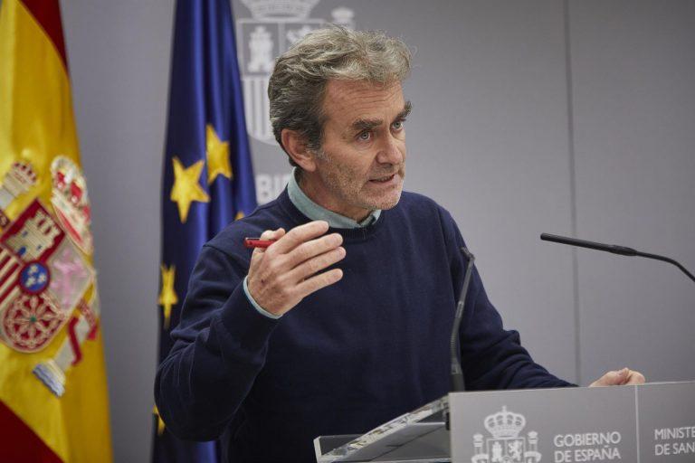 Simón cree que España podría estar en «fase de estabilización» de la segunda ola
