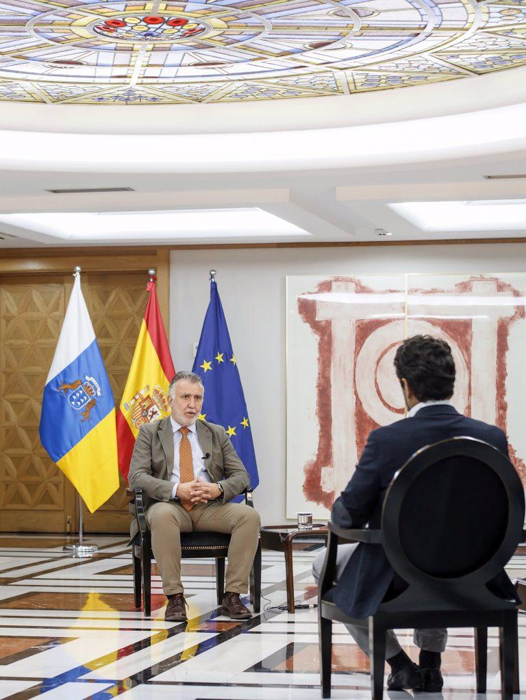 El Presidente de Canarias se opone a la armonización fiscal y pide mantener su fuero propio