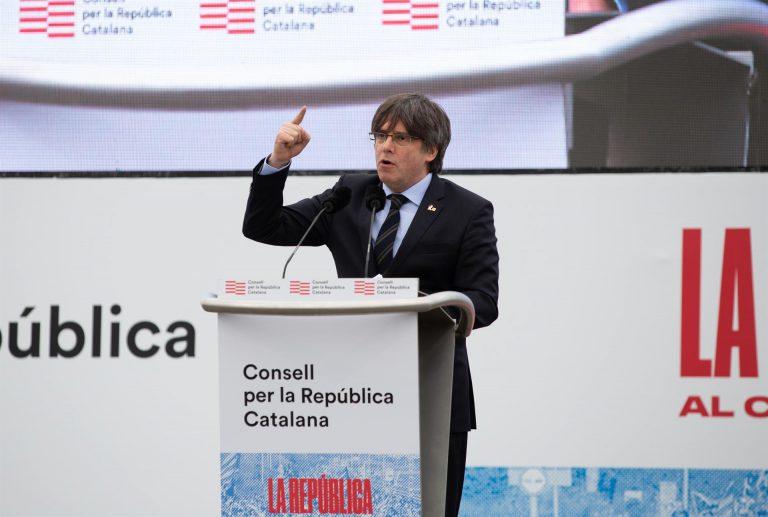 Puigdemont podrá pedir de nuevo cautelares al TUE para parar su extradición desde Italia