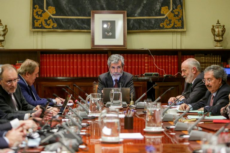 El Congreso inicia el trámite para limitar las competencias del CGPJ mientras esté en funciones
