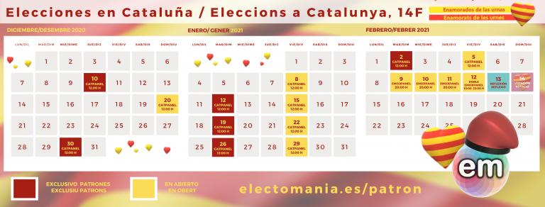 14F – Enamorats de les urnes: nuestra cobertura para las elecciones en Cataluña