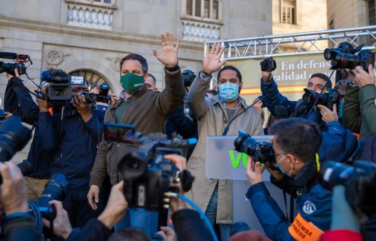 """Garriga, de Vox, considera la Diada un mito y el separatismo una """"farsa"""""""