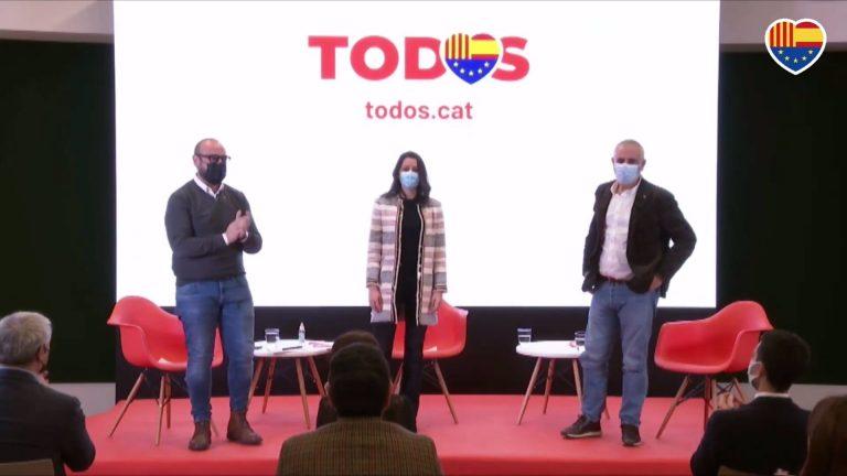 Ciudadanos lanza su candidatura catalana con críticas al independentismo