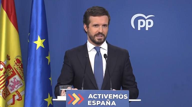 """Balance de Pablo Casado: en 2020 hemos tenido """"el peor gobierno posible"""""""