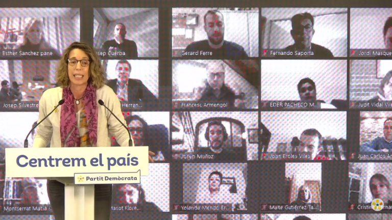 Àngels Chacón (PDeCAT): 'No nos presentamos a las elecciones para pactar con alguien'