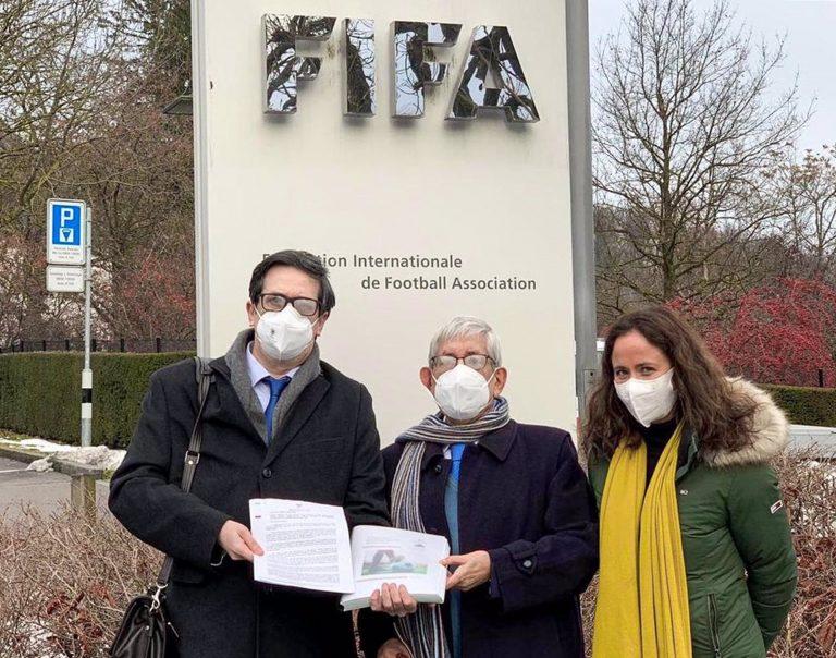 Federación Vasca de Fútbol presenta ante la FIFA y la UEFA la solicitud de integración como miembro de pleno derecho