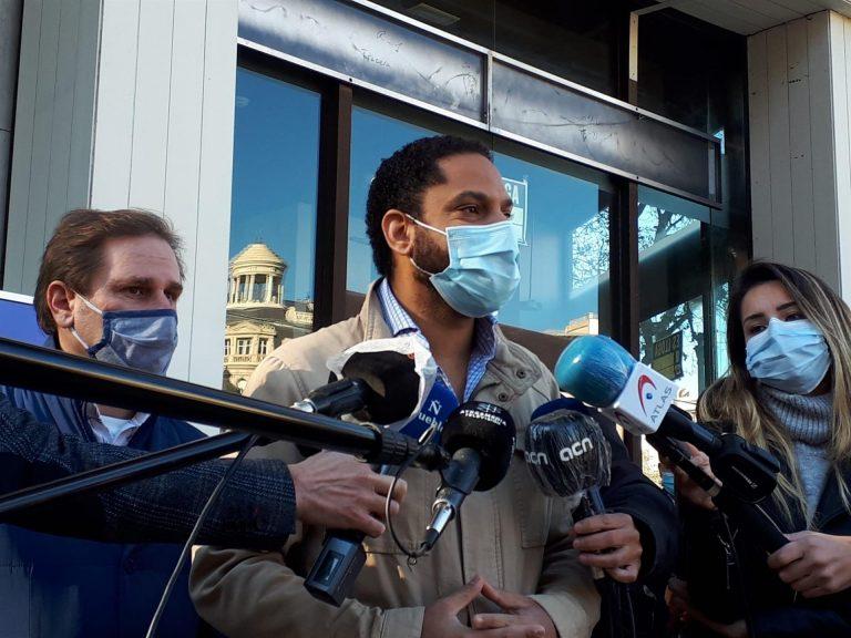 Garriga presenta a Vox como la alternativa frente al separatismo