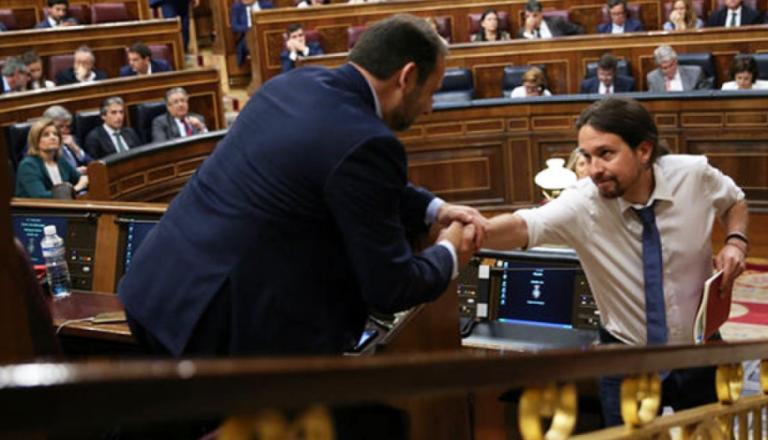 PSOE y Podemos pactan el decreto-ley antidesahucios  para antes de fin de año