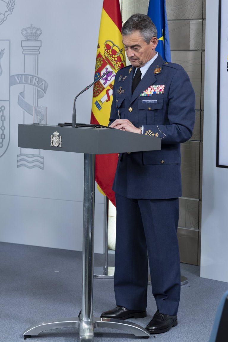 El Jefe de Estado Mayor de la Defensa emite un comunicado en el que carga contra el 'chat de militares retirados'